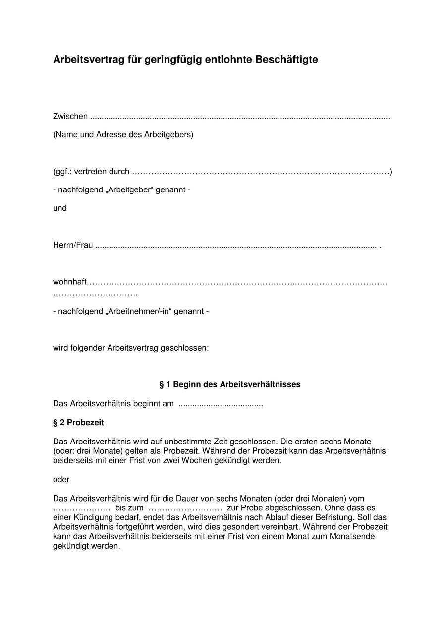 Pin Auf Kundigung Arbeitsvertrag