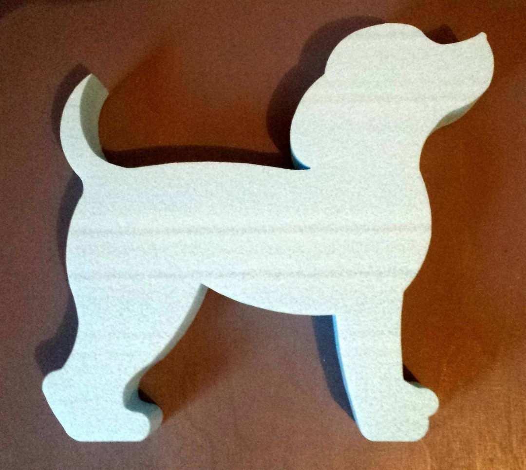 10066c Holzhandwerk Muster Holz Hund Holzverzierungen