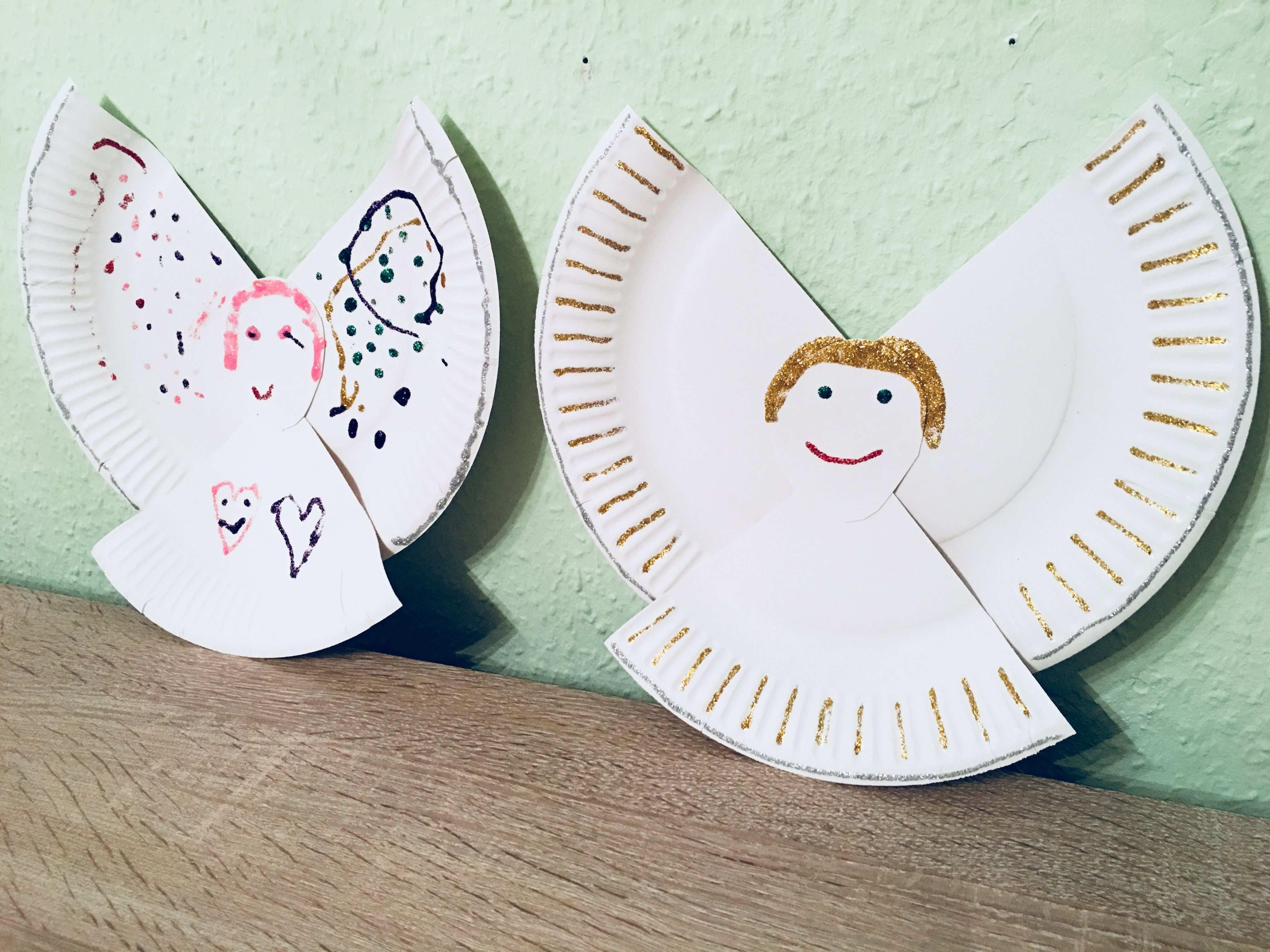 Engel Aus Pappteller Basteln Mit Kindern Der Familienblog Fur Kreative Elter Sterne Basteln Mit Kindern Basteln Weihnachten Basteln Mit Kindern Weihnachten
