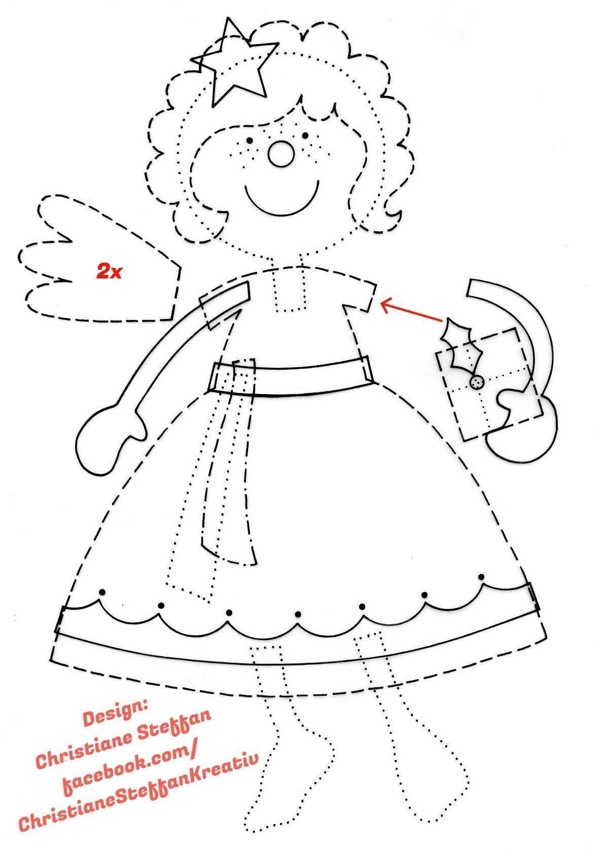 Vorlage Engel Basteln Mit Papier Vorlagen Engel Vorlage Weihnachtszeit Basteln