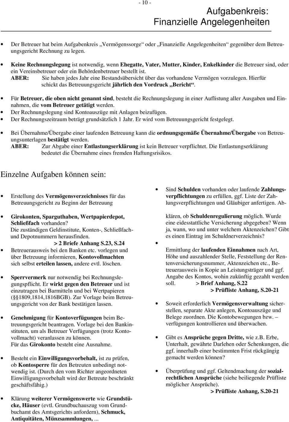 Betreuungsstelle Arbeitshilfe Fur Ehrenamtliche Betreuer Pdf Free Download