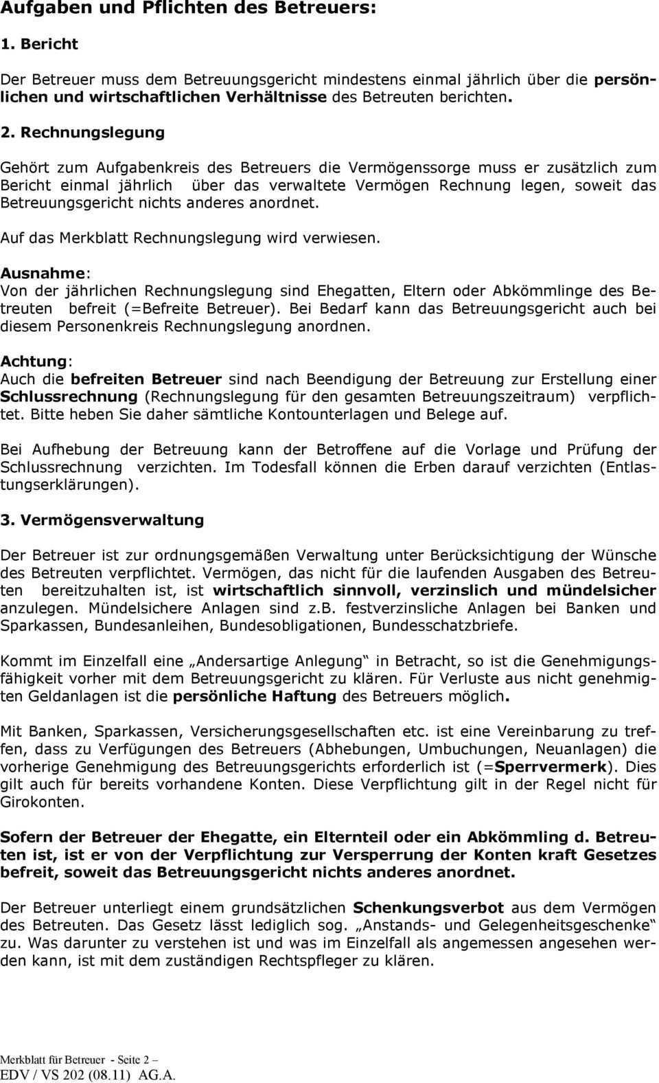 Rechtsstellung Des Betreuers Pdf Kostenfreier Download