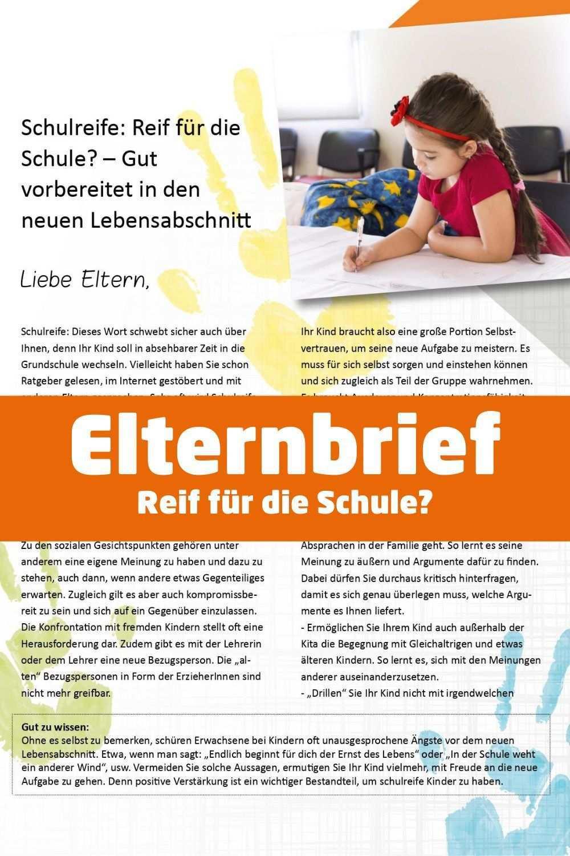 Elternbriefe Im Kindergarten Schreiben Anleitung Und Vorlagen Elternbriefe Soziales Lernen Fruherziehung