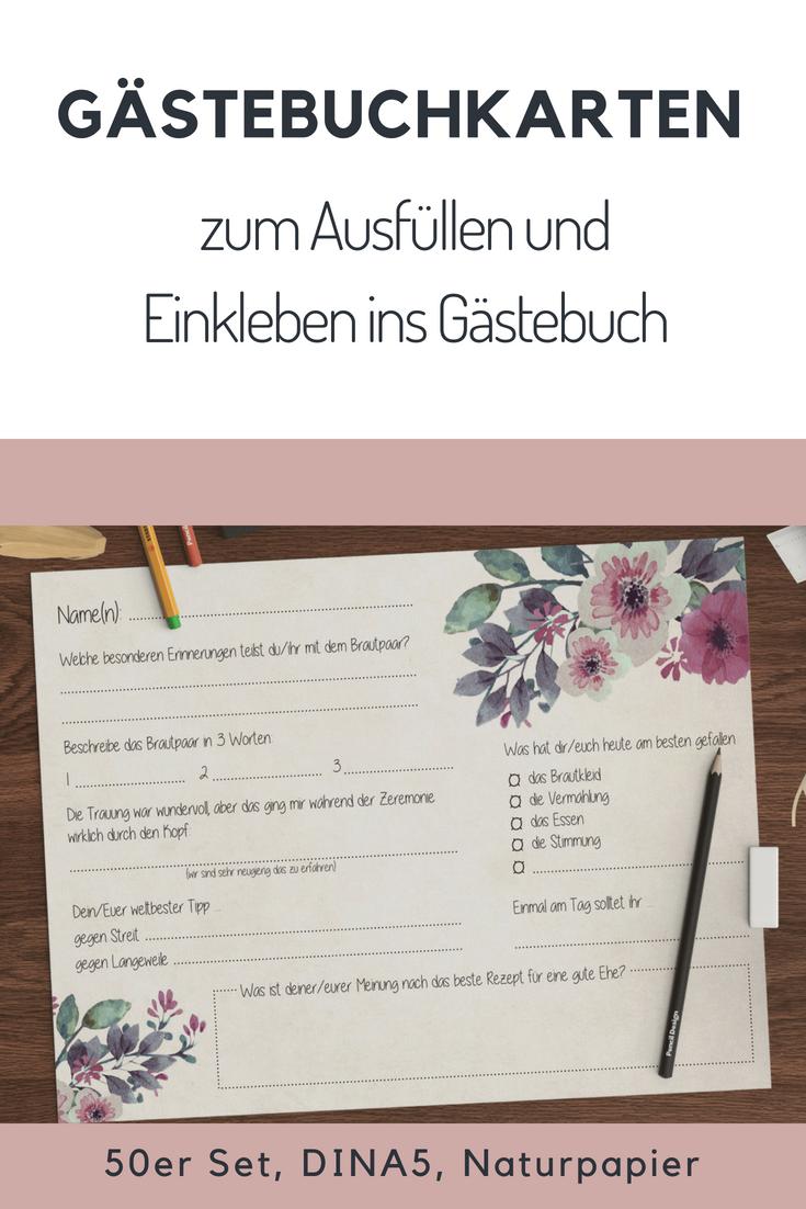 Gastebuch Hochzeit Mit Fragen Zum Ausfullen Ausfullen Fragen Gastebuch Hochzeit Mit Zum In 2020 Wedding Guest Book Diy Wedding Programs Diy Wedding