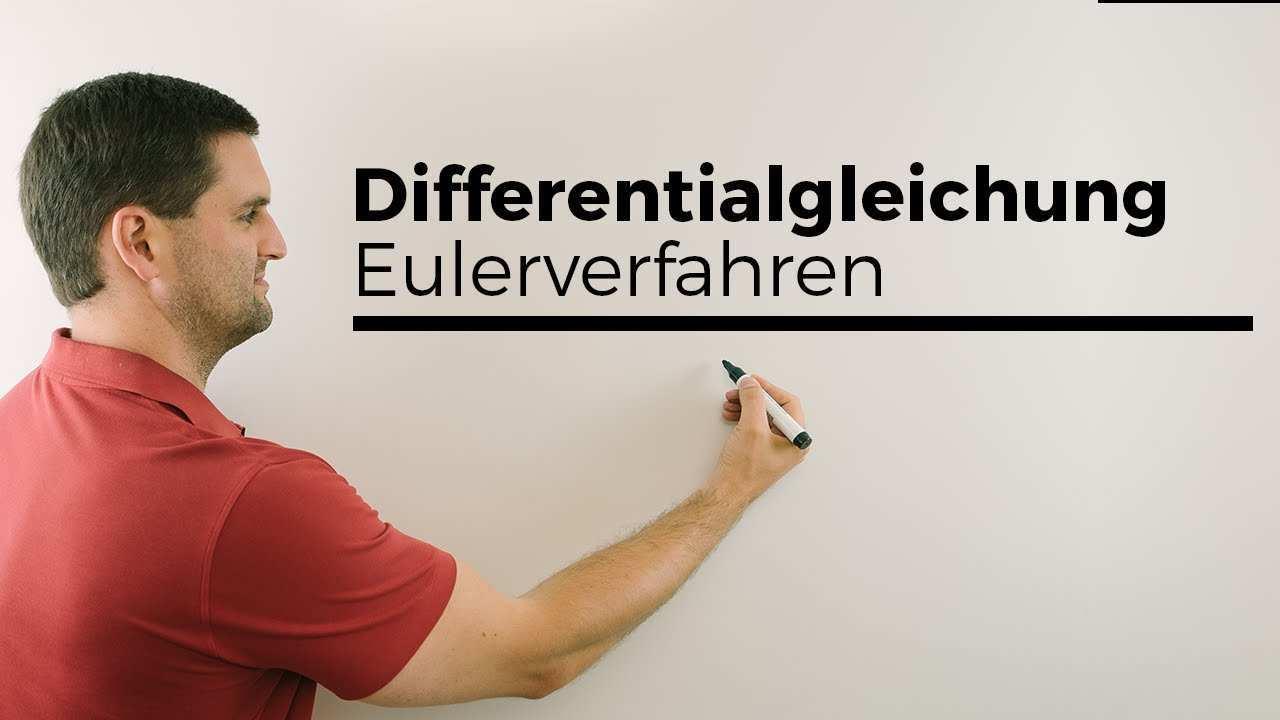 Differentialgleichung Differenzialgleichung Losen Eulerverfahren Grundlagen Mathe By Daniel Jung Youtube