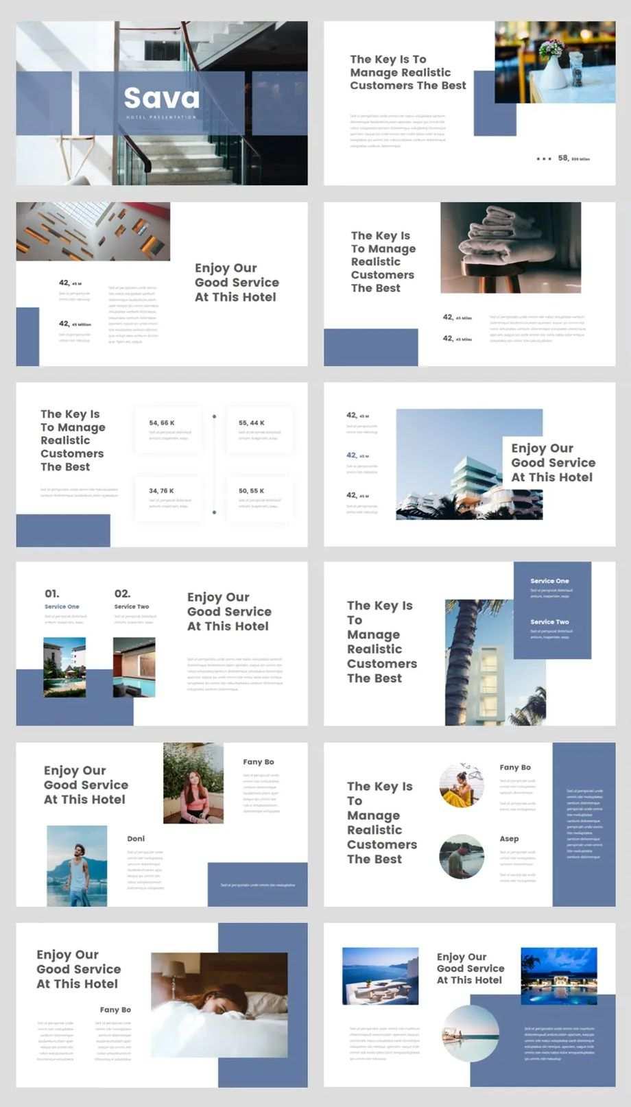 Hotel Powerpoint Presentation Template Powerpoint Presentation Design Powerpoint Design Templates Brochure Design Layouts