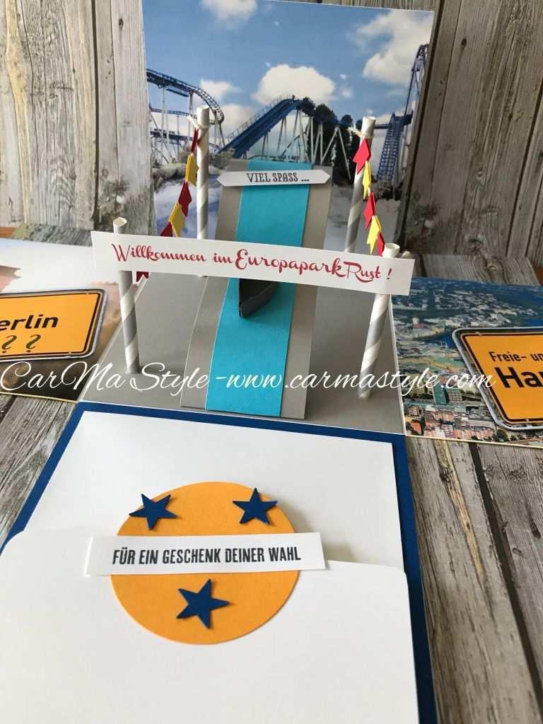 Ausflug In Den Europapark Carma Style Gutschein Geschenke Geschenke Geschenke Basteln