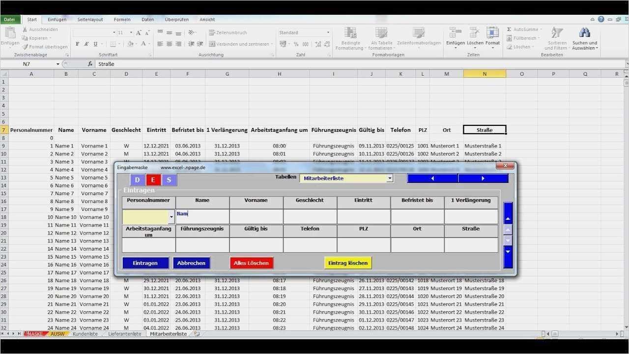 40 Angenehm Mitarbeiter Datenbank Excel Vorlage Galerie Excel Vorlage Vorlagen Indesign Vorlage