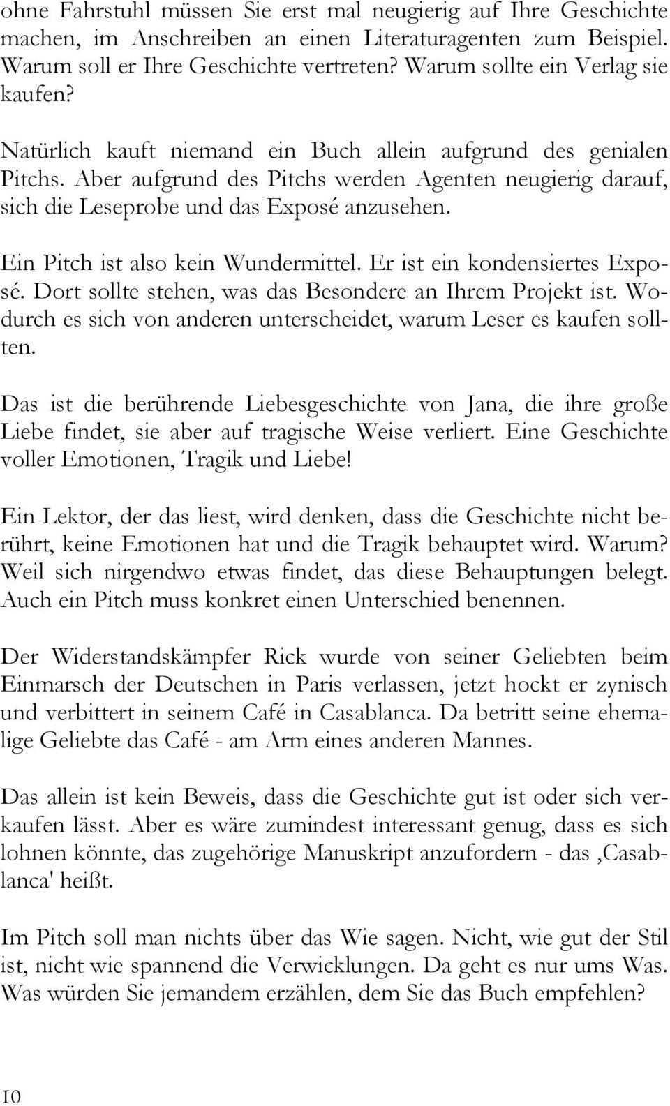 Drei Seiten Fur Ein Expose Hans Peter Roentgen Pdf Free Download