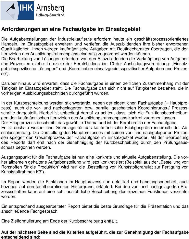 Informationen Zur Abschlussprufung Industriekaufmann Frau Pdf Kostenfreier Download