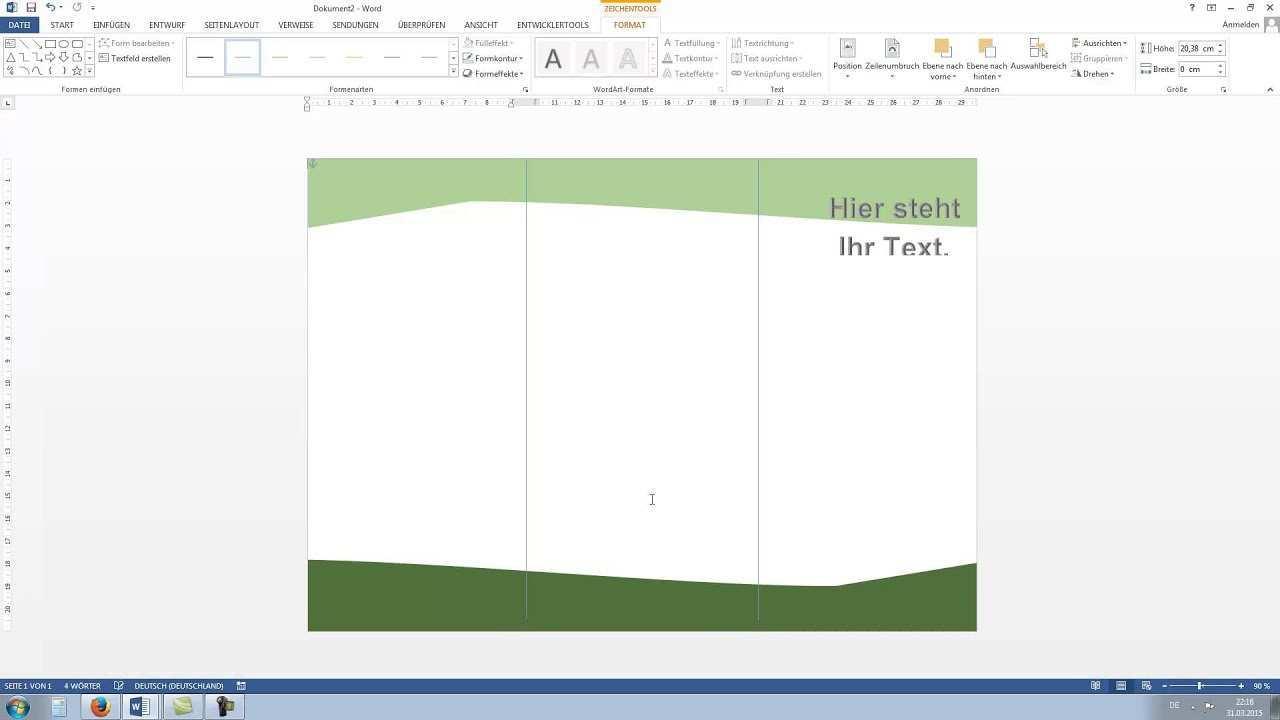 Flyer Erstellen In Word 2010 2013 Hd Tutorial German Deutsch Youtube