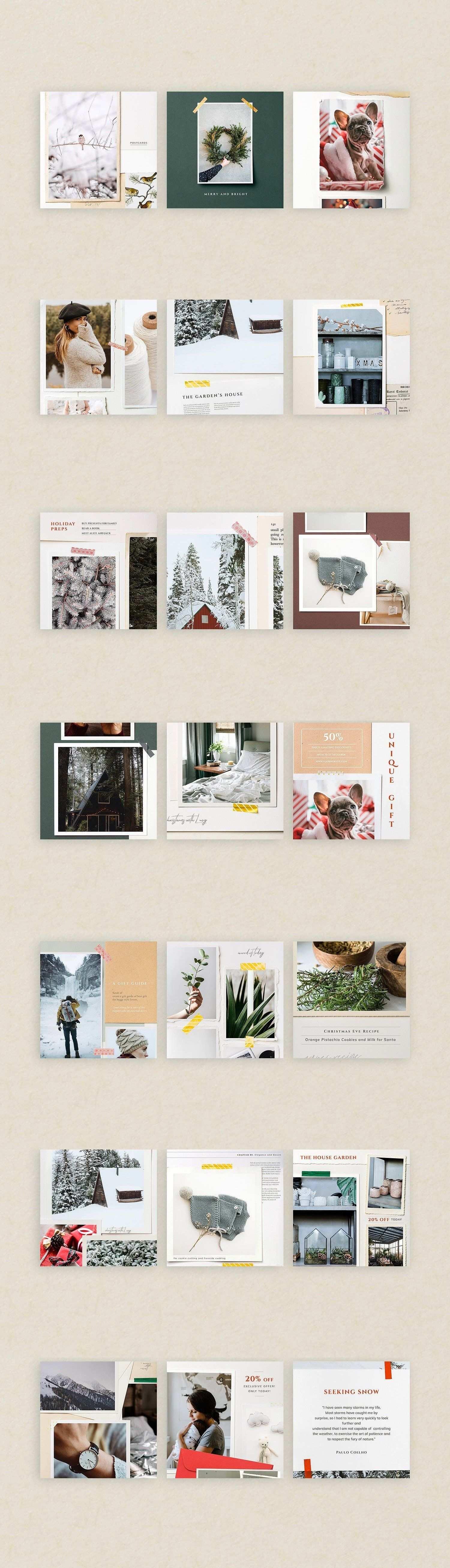 Canva Bundle Social Kit Free Instagram Photoshop Landscape Instagram Story Template