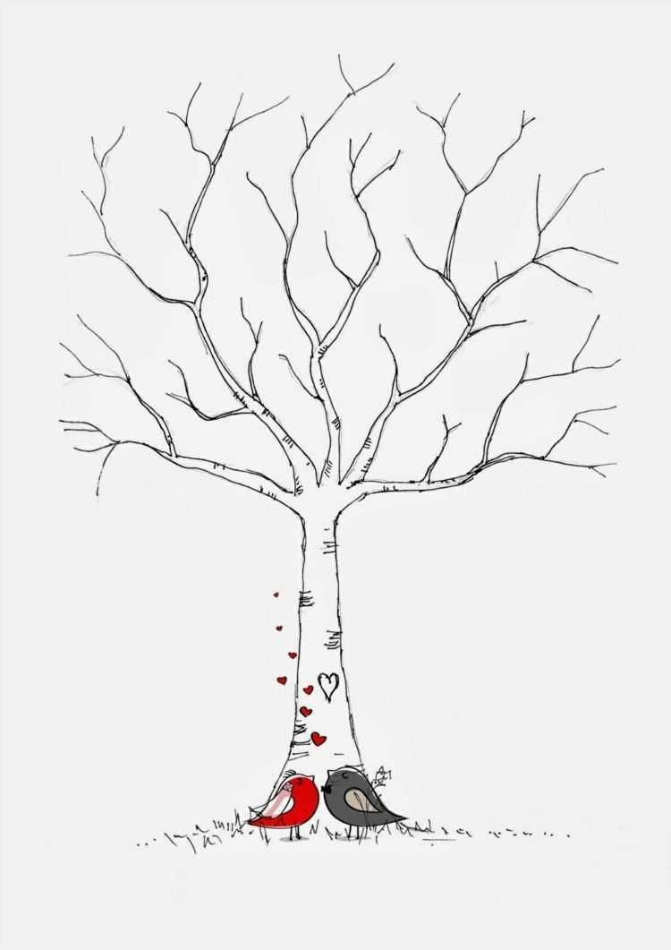 Fingerabdruck Baum Vorlage Andere Motive Kostenlos Zum Ausdrucken Fingerabdruckleinwand Ausdrucken Tree Mo Baum Vorlage Fingerabdruck Baum Gastebuch Baum