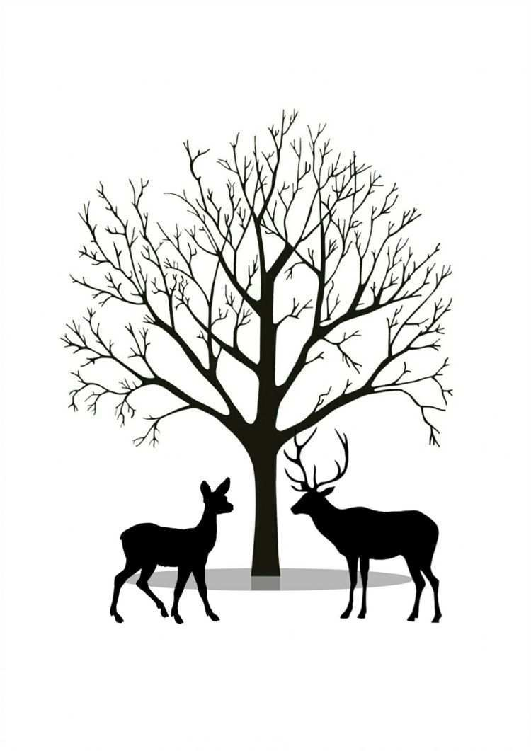 Fingerabdruck Baum Vorlage Andere Motive Kostenlos Zum Ausdrucken Baum Vorlage Fingerabdruck Baum Ausdrucken