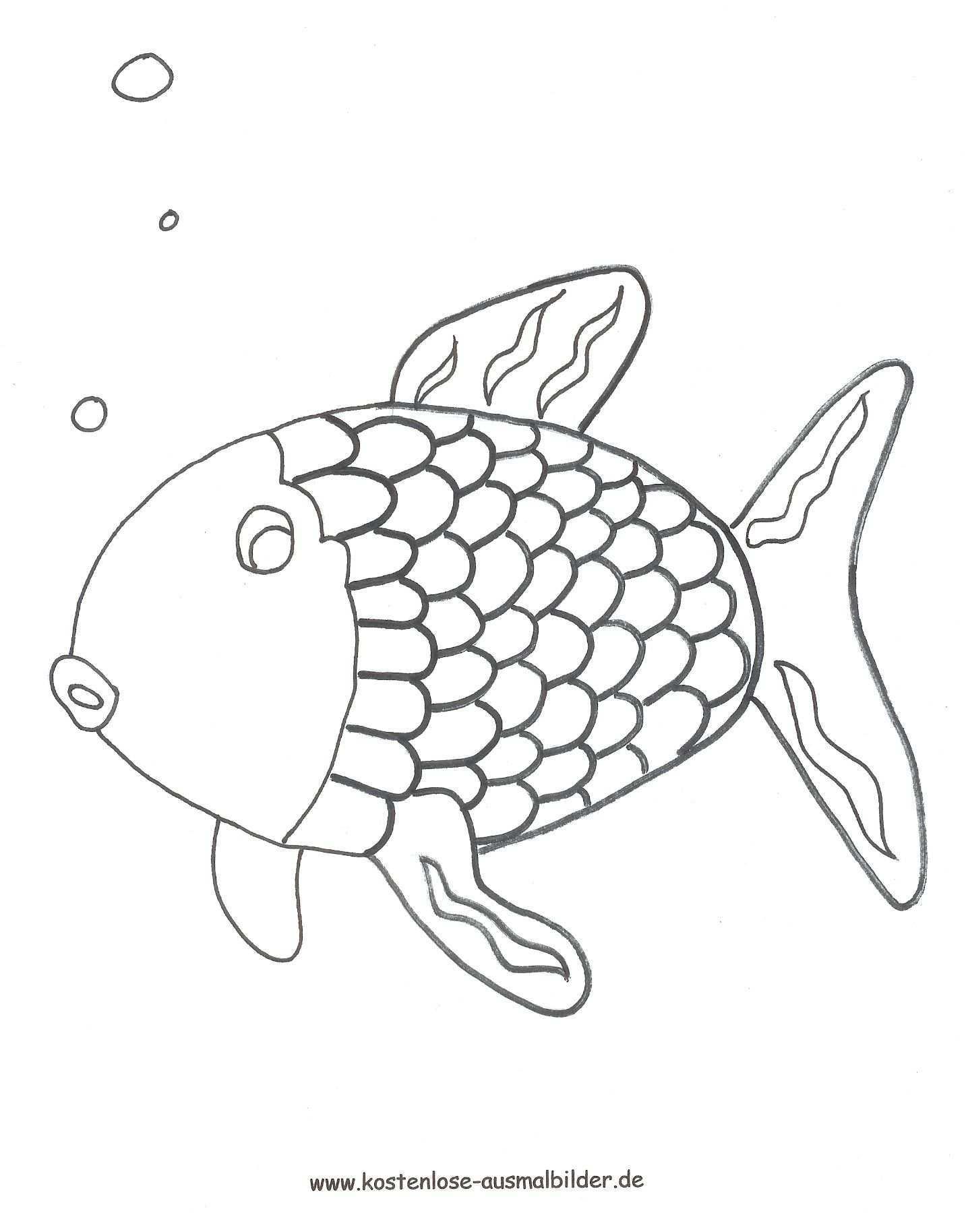 fisch vorlage zum ausdrucken