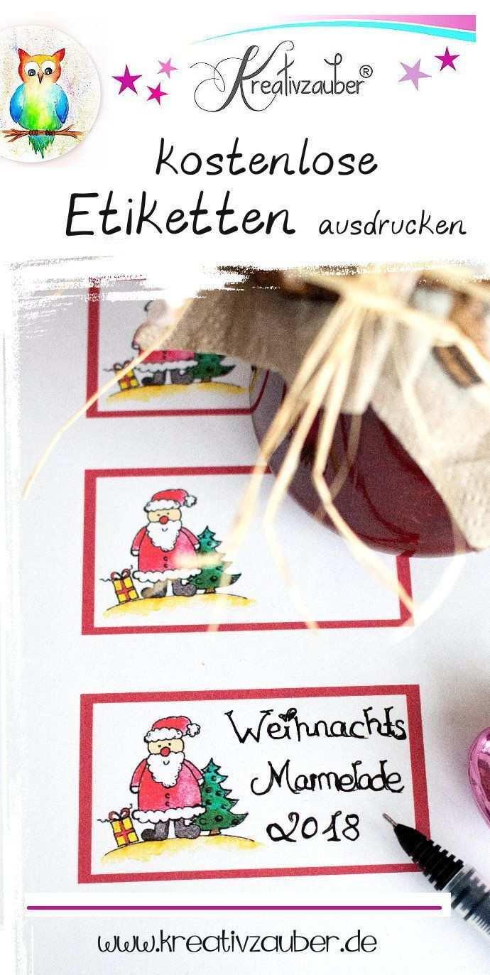 Weihnachtsetiketten Ausdrucken Kreativzauber Bastelblog Mit Vielen Vorlagen Anleitungen Und Ideen Weihnachtsetiketten Etiketten Selber Drucken Etiketten Gestalten