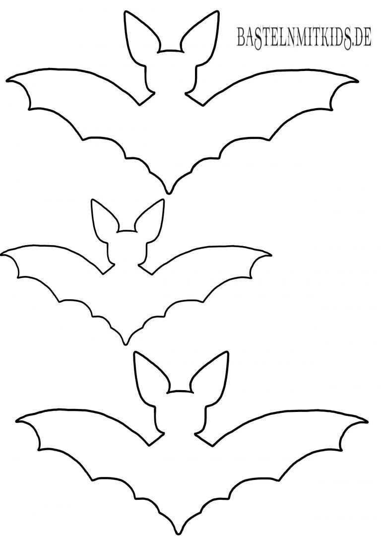 Fledermaus Basteln Mit Vorlage Basteln Mit Kindern Halloween Basteln Mit Kindern Halloween Deko Basteln Halloween Kinder