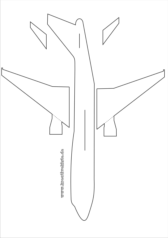 Laubsaege Flugzeug Vorlage A3 Bastelvorlagen Zum Ausdrucken Laubsagen Vorlagen Flugzeug Basteln