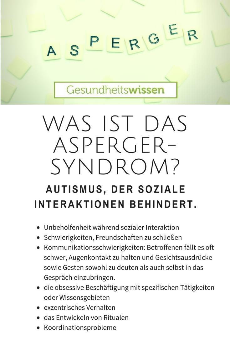 Das Asperger Syndrom Ist Eine Entwicklungsstorung Die Von Medizinern Dem Autistischen Spektrum Zugeordnet Wird Das Autismu Asperger Asperger Syndrom Autismus