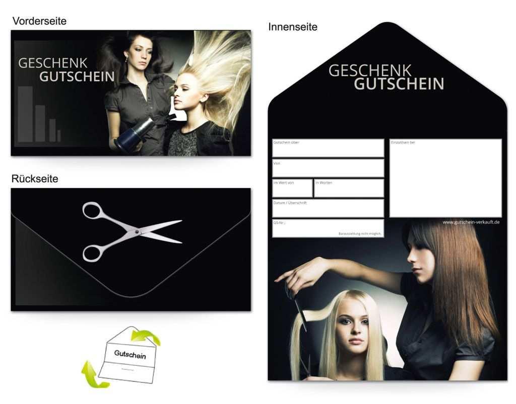 Gutschein Kosmetik Friseur Haarschnitt Gutscheine Gutschein Vorlage Geschenke