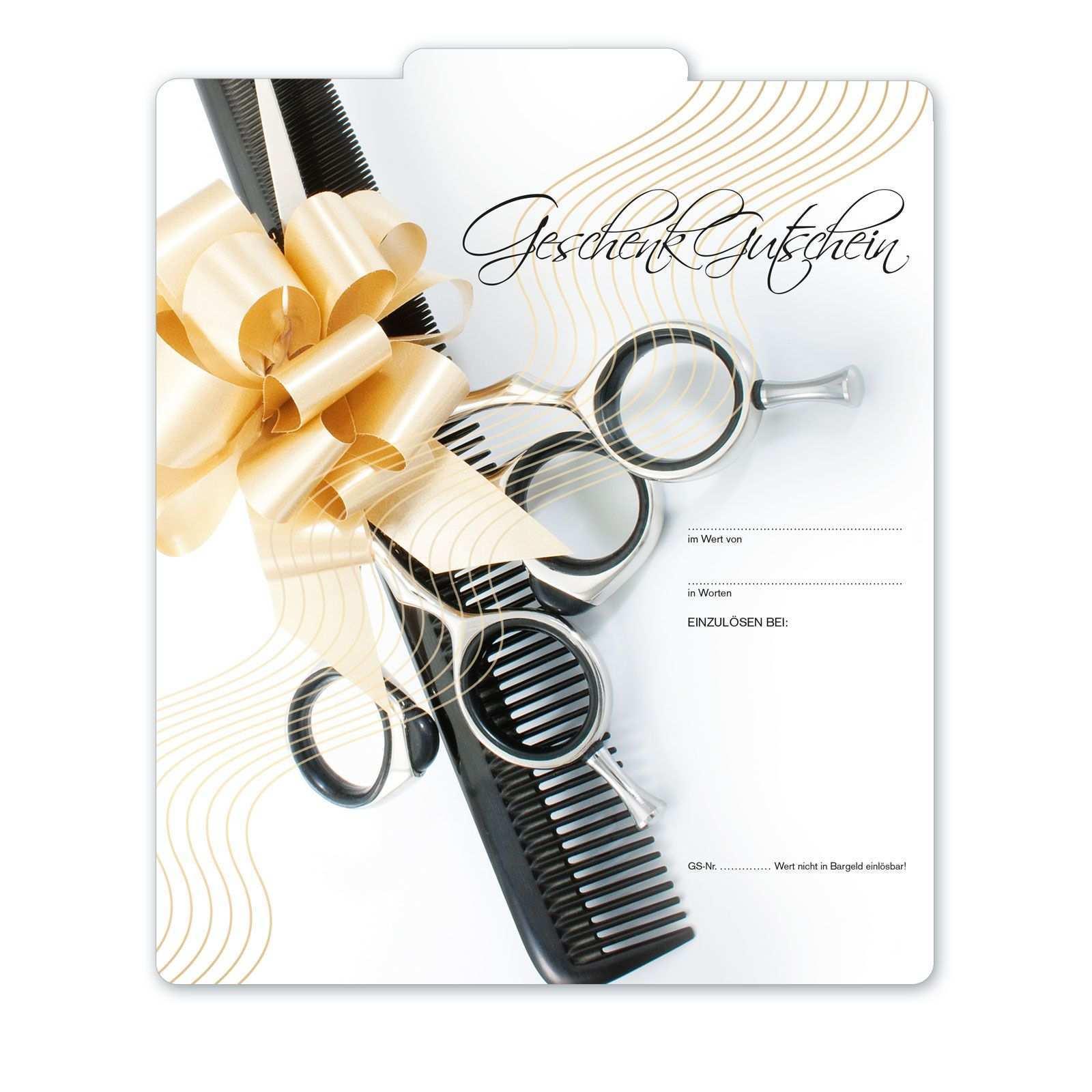 Geschenkgutschein Fur Friseure K284 Geschenkgutscheine Gutscheine Geschenke