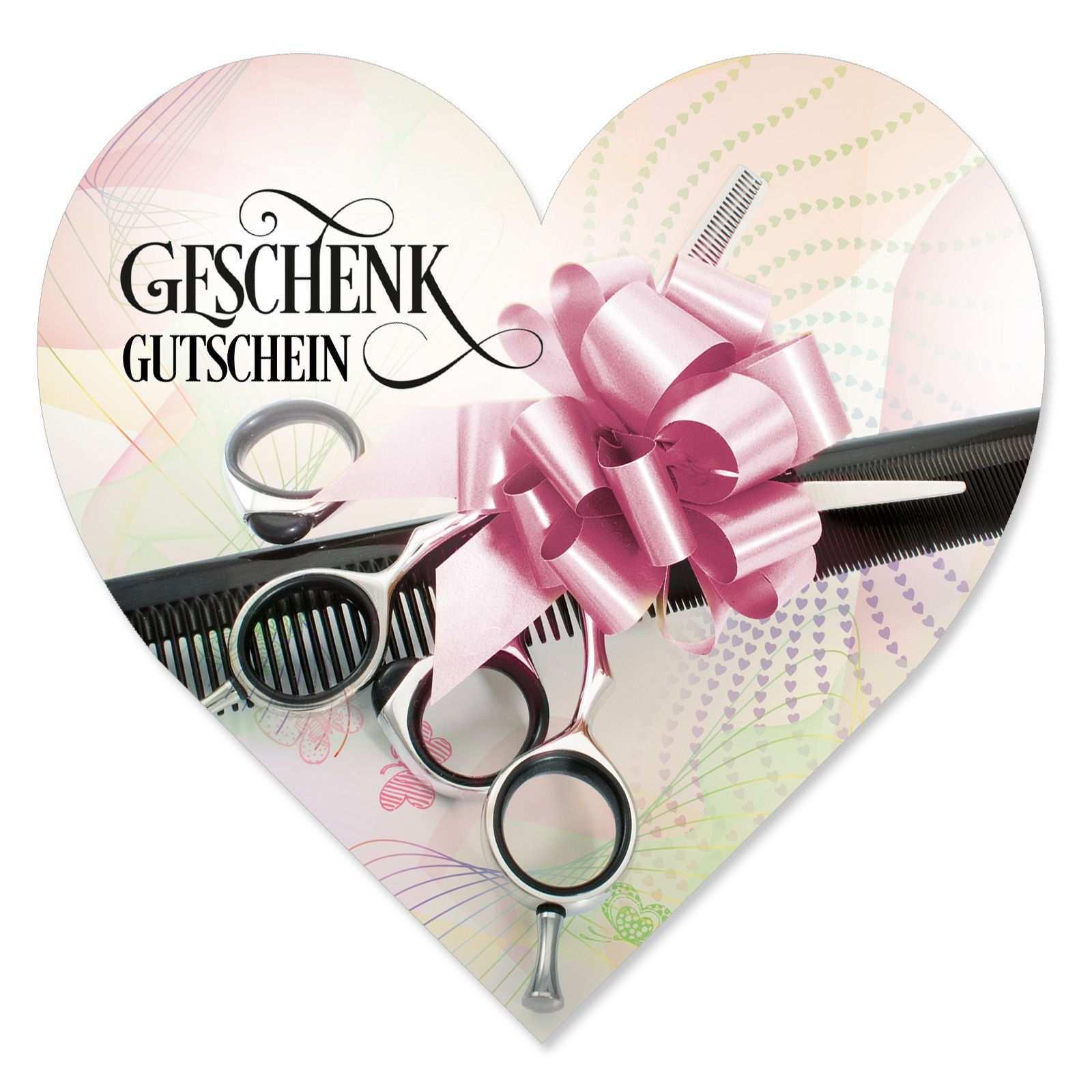 Herz Geschenkgutschein K450 Erhaltlich Auf Www Geschenkgutschein Com Ein Gutschein Fur Friseure Geschenkgutscheine Gutscheine Geschenke