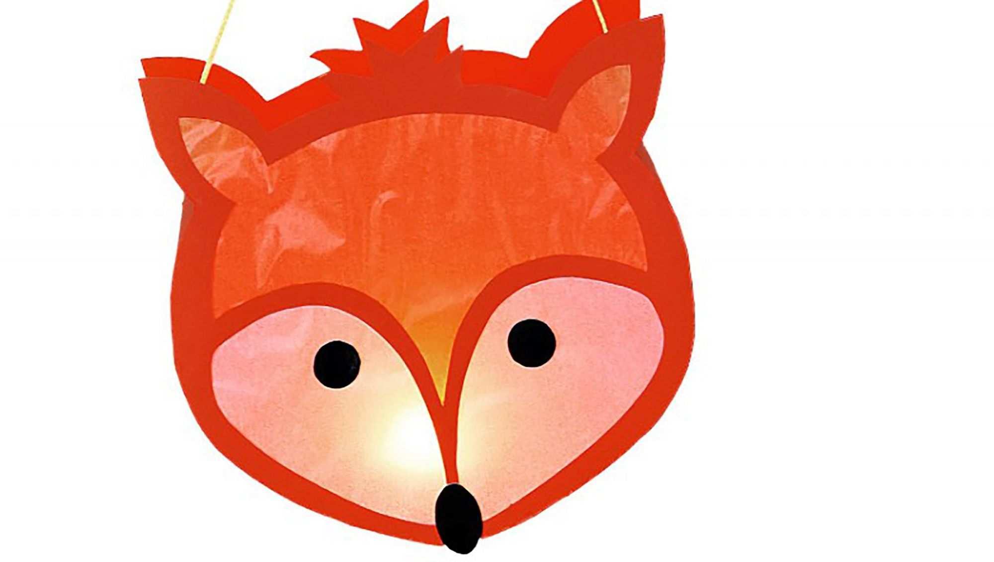 Wir Basteln Eine Fuchs Laterne Laternen Basteln Laterne Basteln Vorlagen Fuchs Basteln