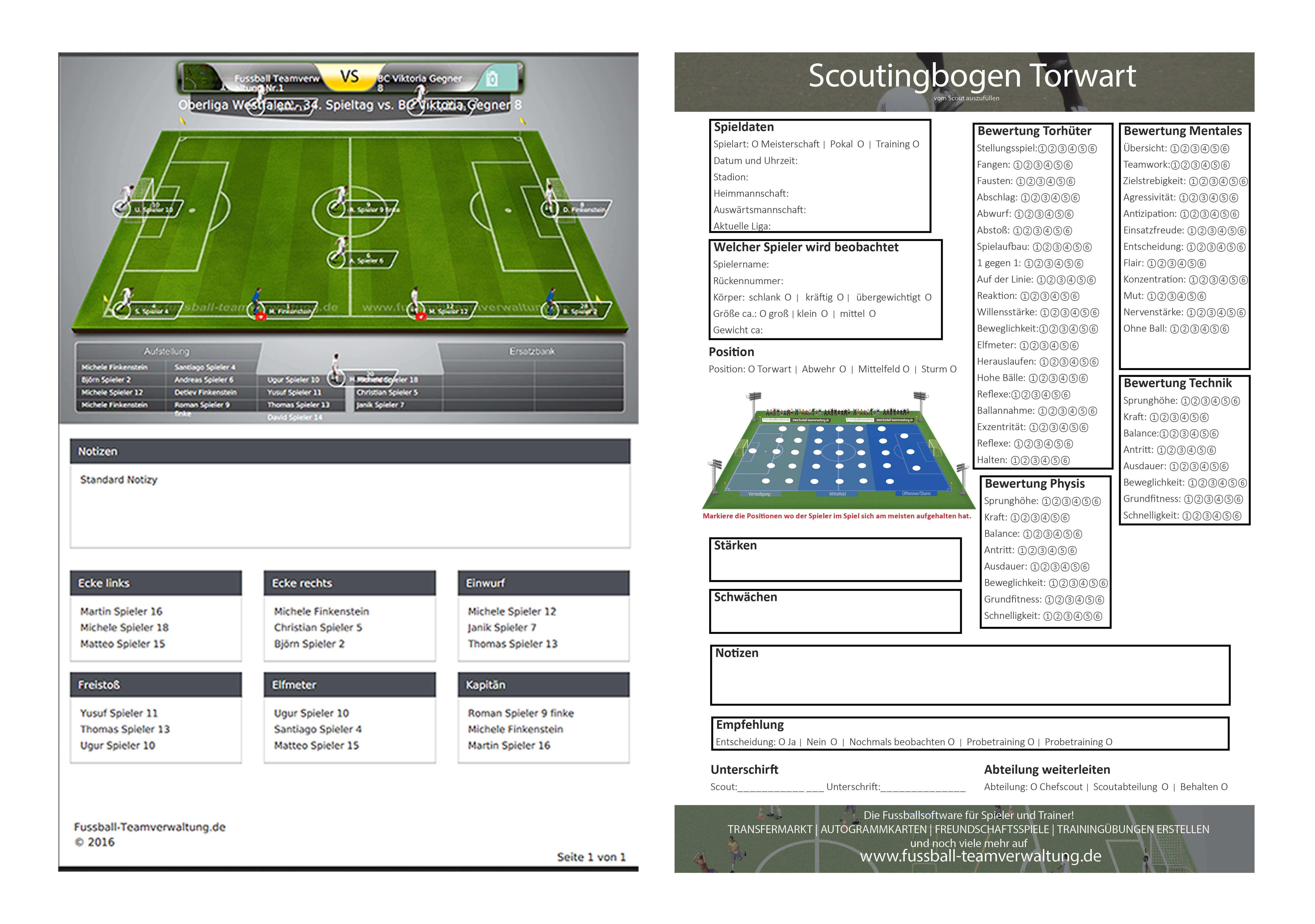Fussball Vereinssoftware