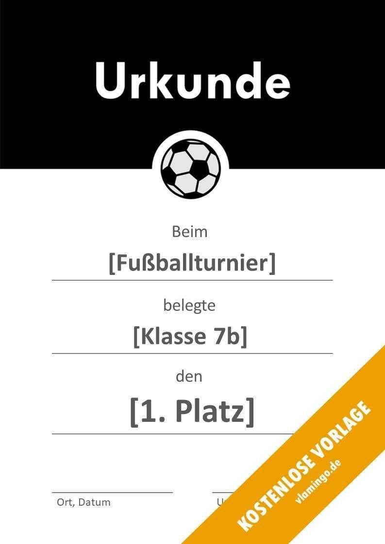 12 Kostenlose Urkunden Vorlagen Fur Fussball Turniere Vlamingo De Urkunde Flyer Erstellen Flyer Vorlage