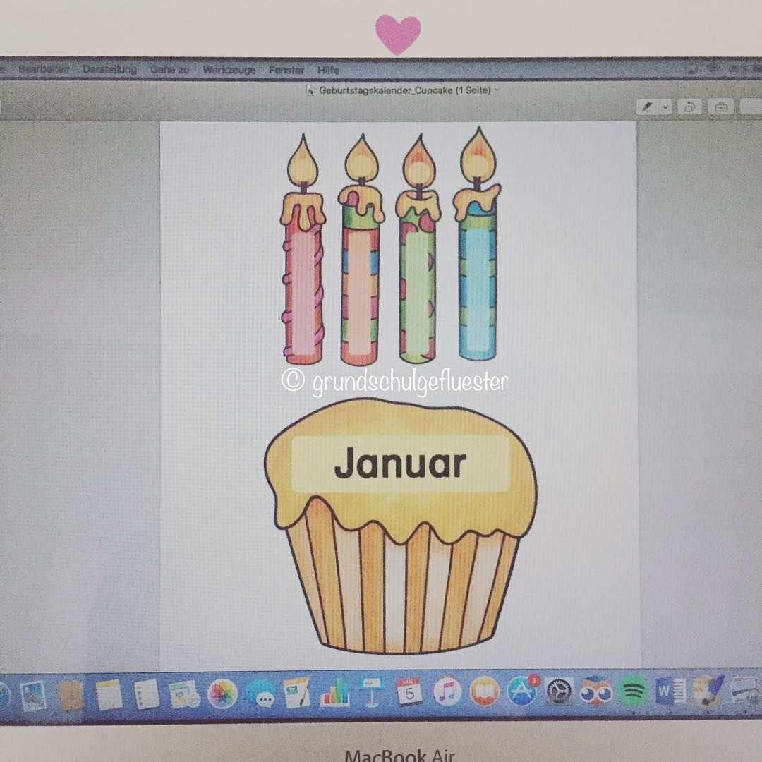 Mein Geburtstagskalender Fur Den Klassenraum Ist In Arbeit Und Fa Geburtstagskalender Schule Basteln Geburtstagskalender Grundschule Geburtstagskalender Schule
