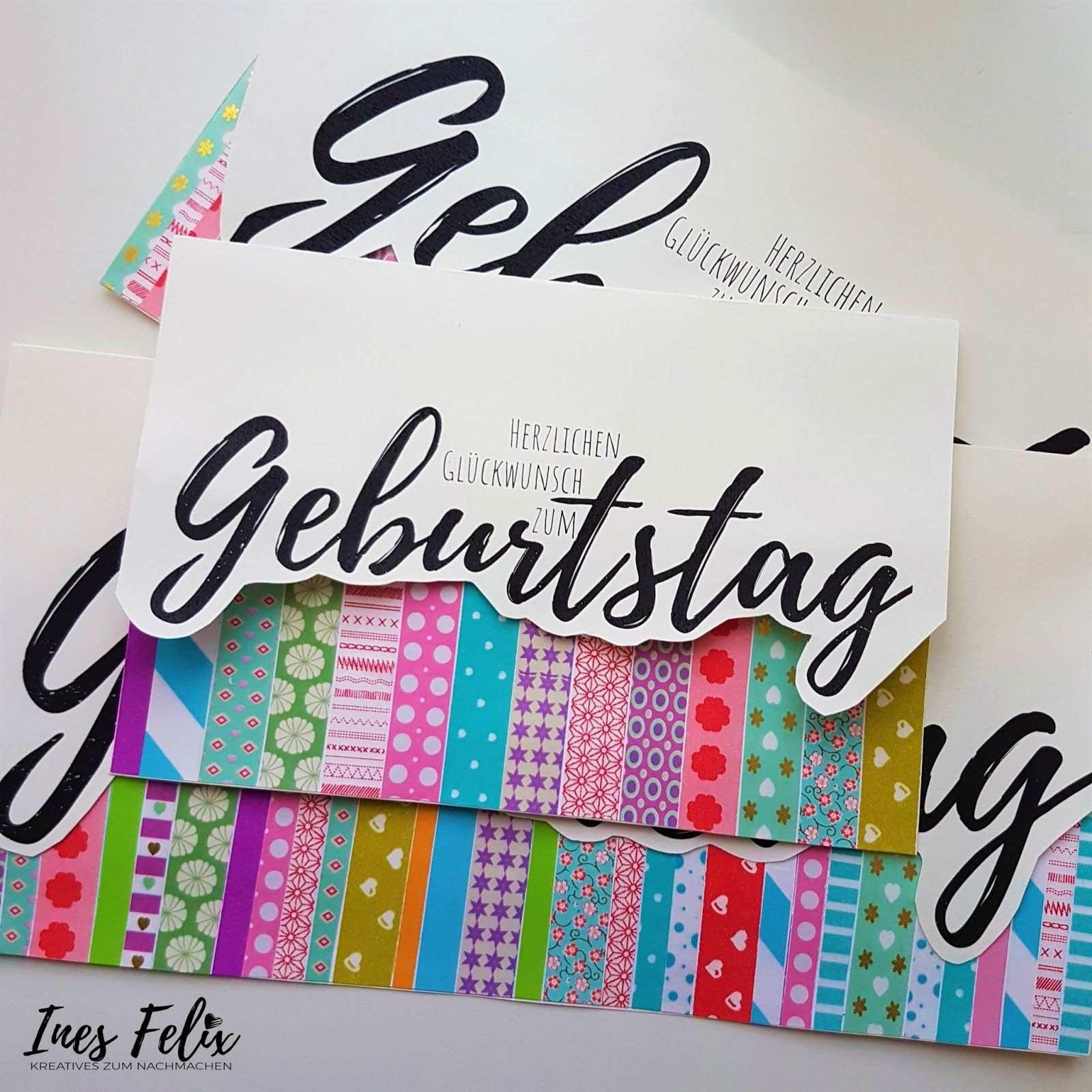 Geburtstag Karte Masking Tape Vorlage Ines Felix Anleitung Selber Machen Basteln Diy In 2020 Karte Basteln Geburtstag Geburtstag Karte Karten Selber Basteln