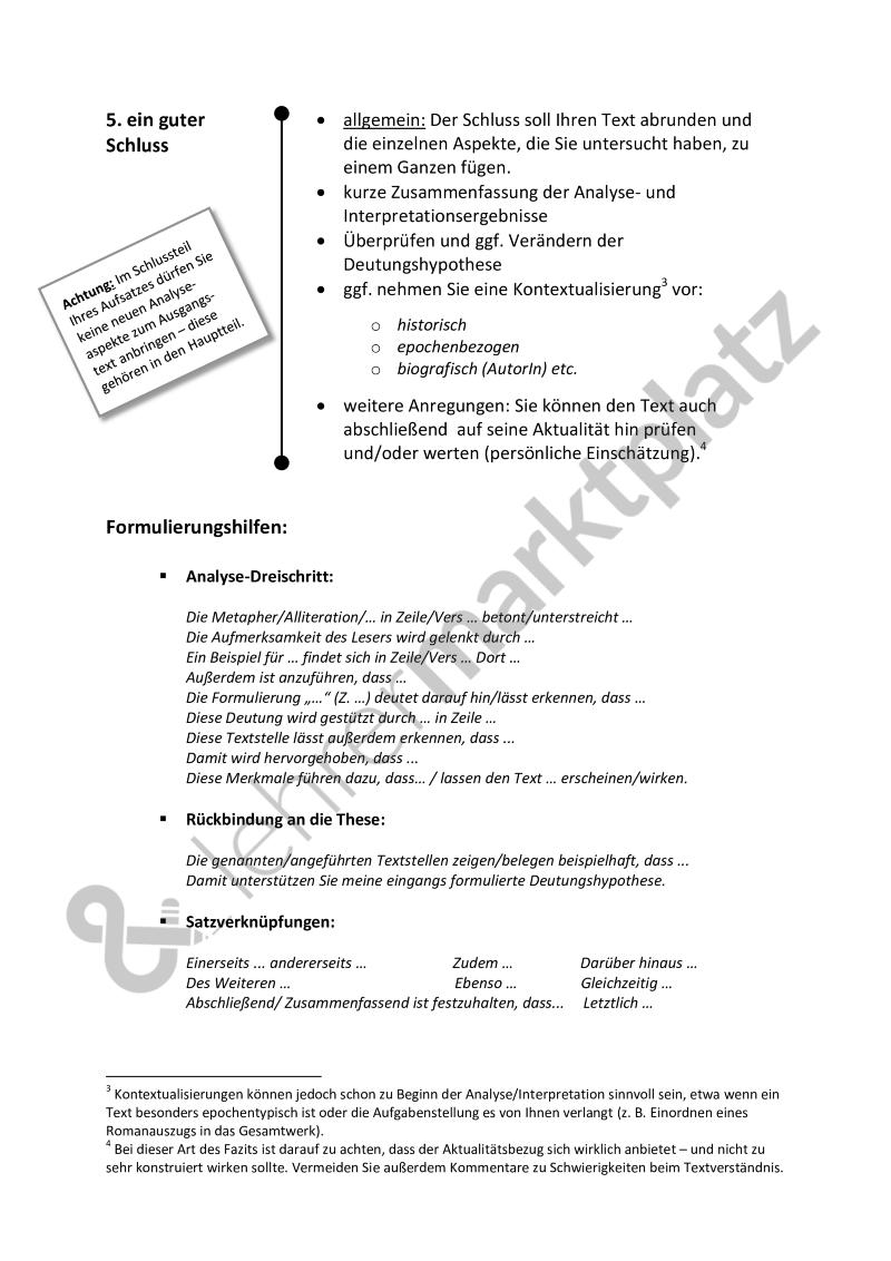 Analyse Und Interpretation Leitfaden Fur Alle Literarischen Texte Kurzgeschichte Gedicht Etc Word Pdf Mit Lernen Tipps Schule Lernen Deutsch Lernen