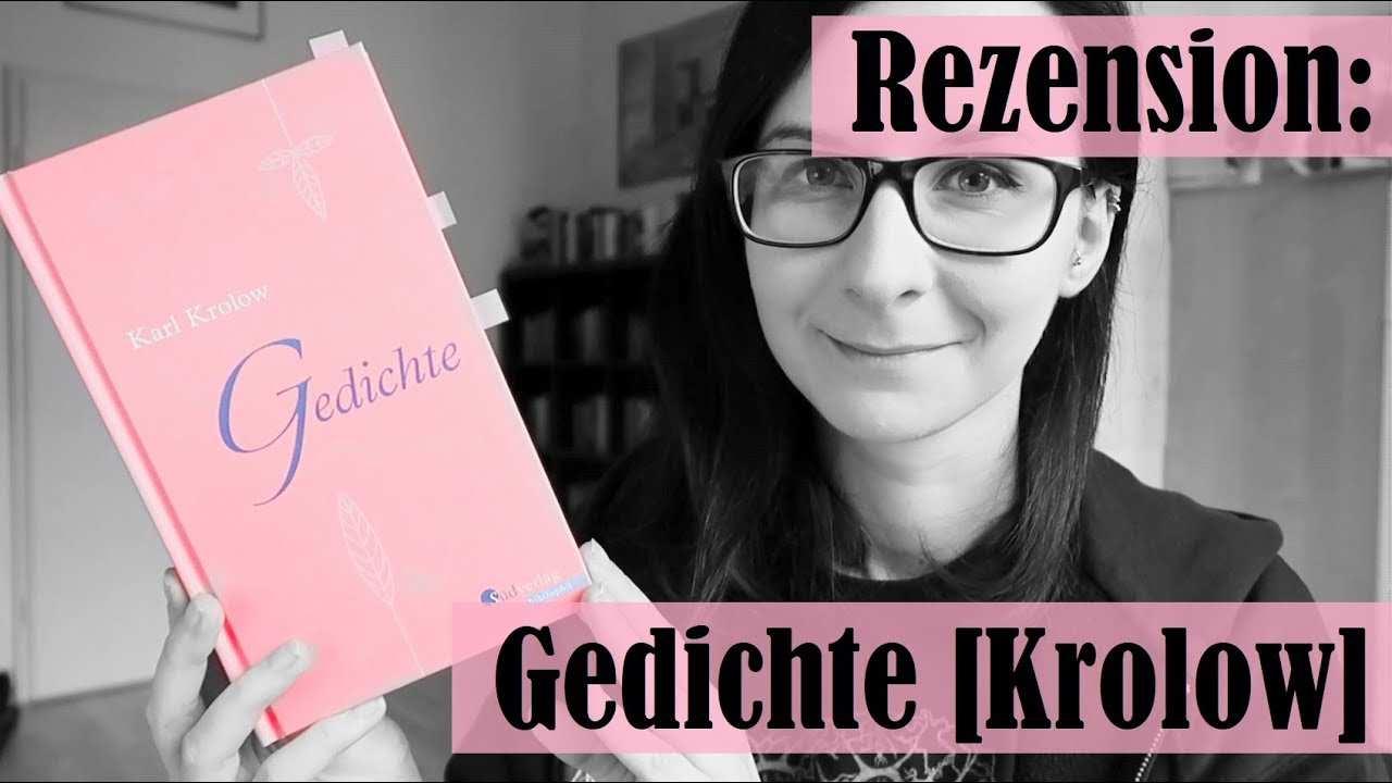 Rezension Gedichte Karl Krolow Naturlyrik Nachkriegszeit Youtube