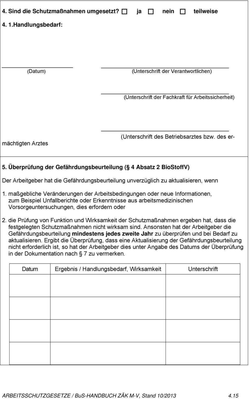 Kap 4 Arbeitsschutzrecht Biologische Arbeitsstoffe Pdf Free Download