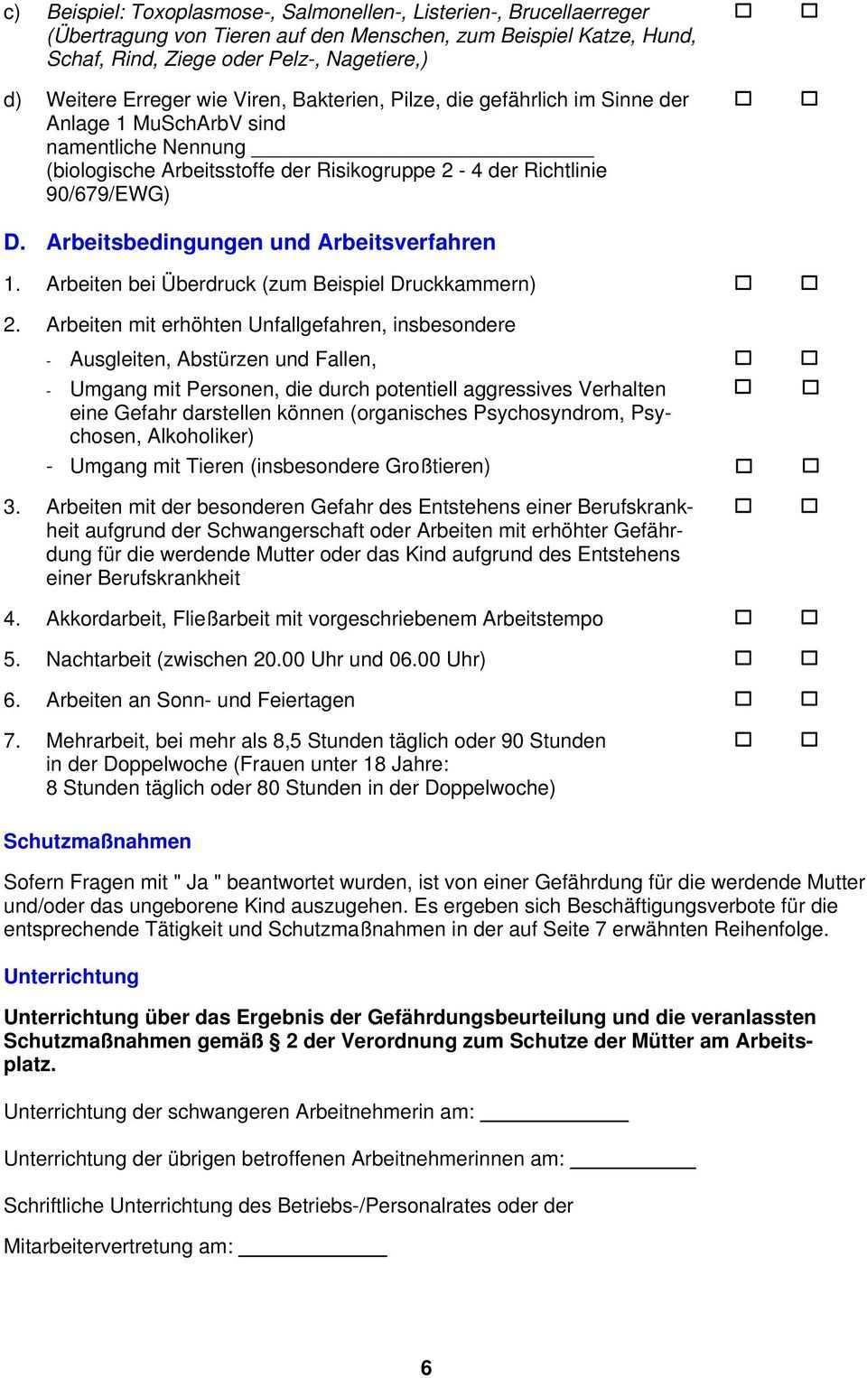Ratgeber Mutterschutz Gefahrdungsbeurteilung Niedersachsen Pdf Free Download