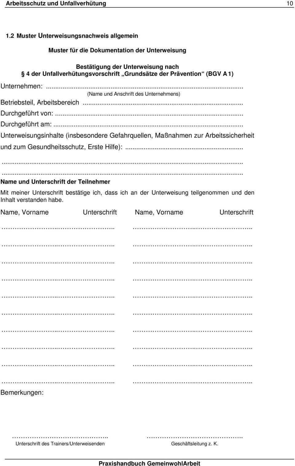 Arbeitsschutz Und Unfallverhutung Pdf Free Download