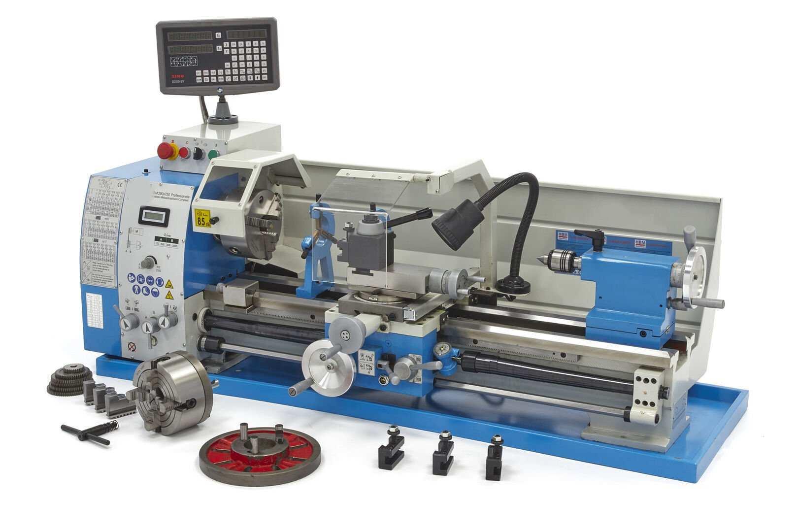 Drehmaschine 290 V F Dro Zur Metallbearbe Ink