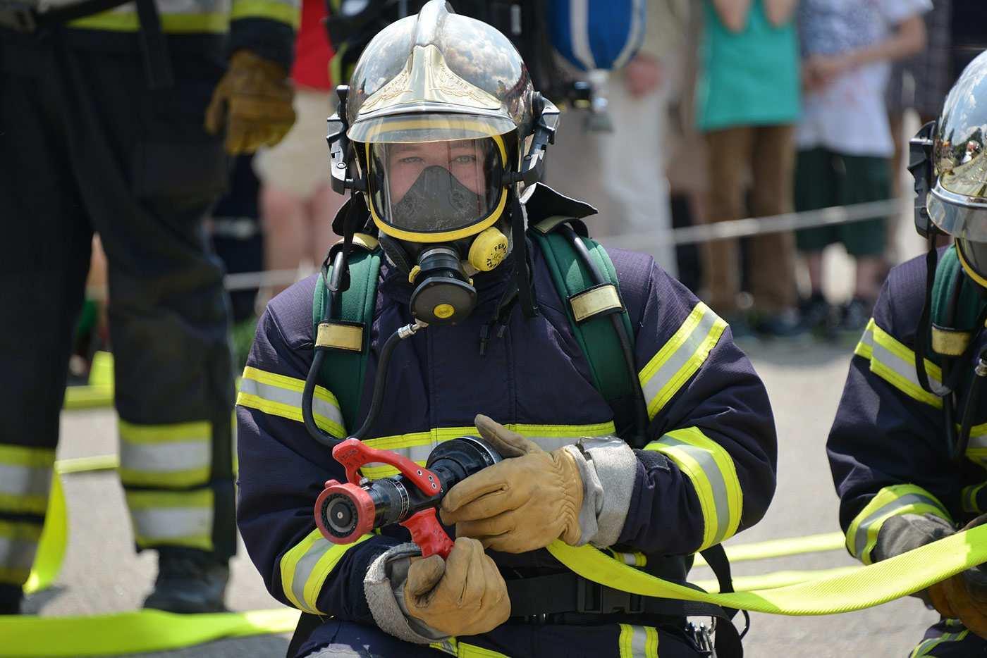 Personliche Schutzausrustung Sichere Feuerwehr