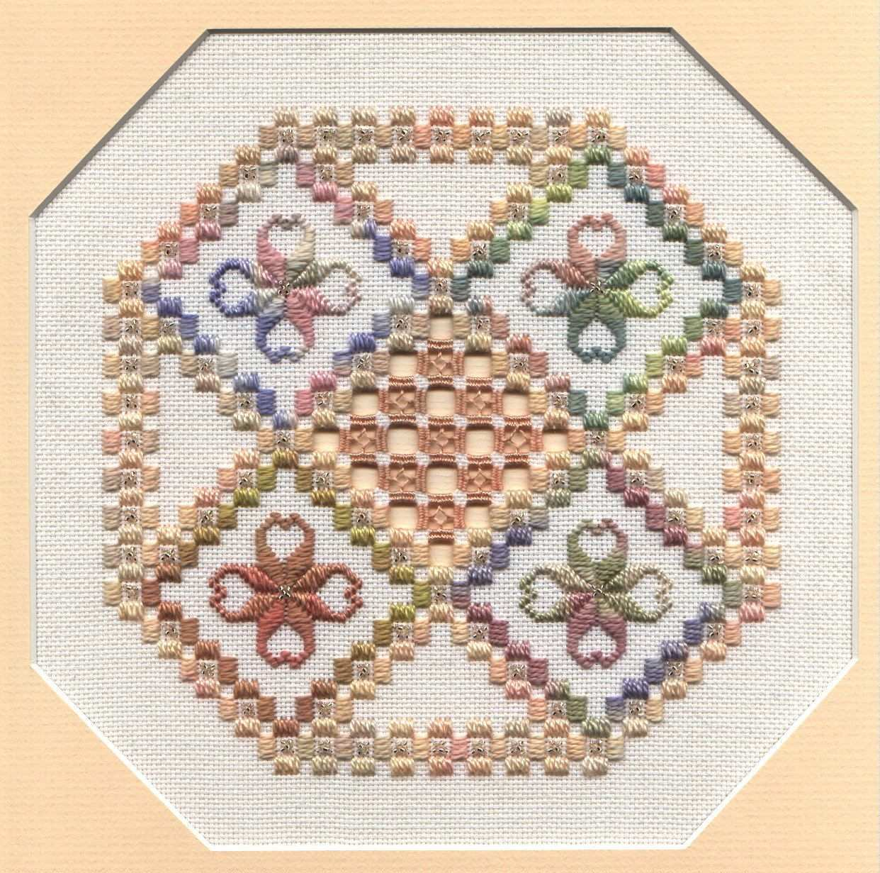 Jahreszeiten Hardanger Muster Hardanger Embroidery Hardanger Pattern