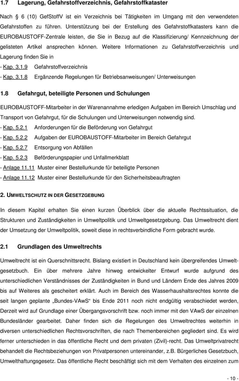 Gefahrstoff Management Handbuch Pdf Kostenfreier Download