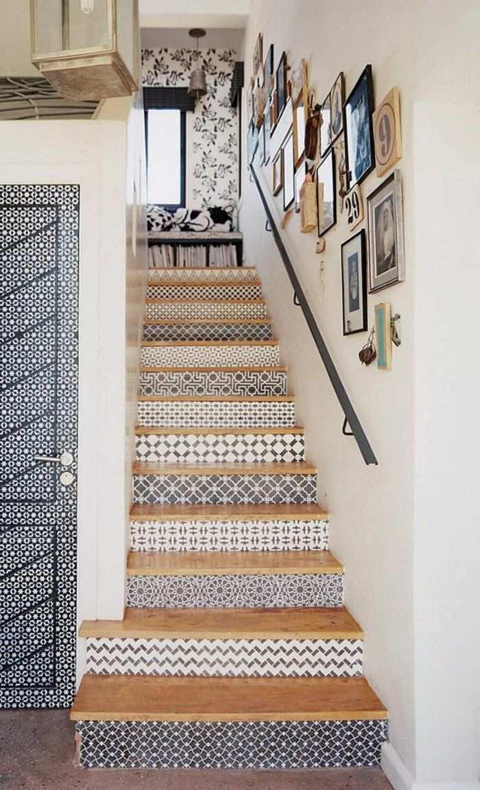 Wandtapeten Fur Eine Originelle Und Exzellente Treppengestaltung Wandtapeten Treppenhaus Dekorieren Design Fur Zuhause