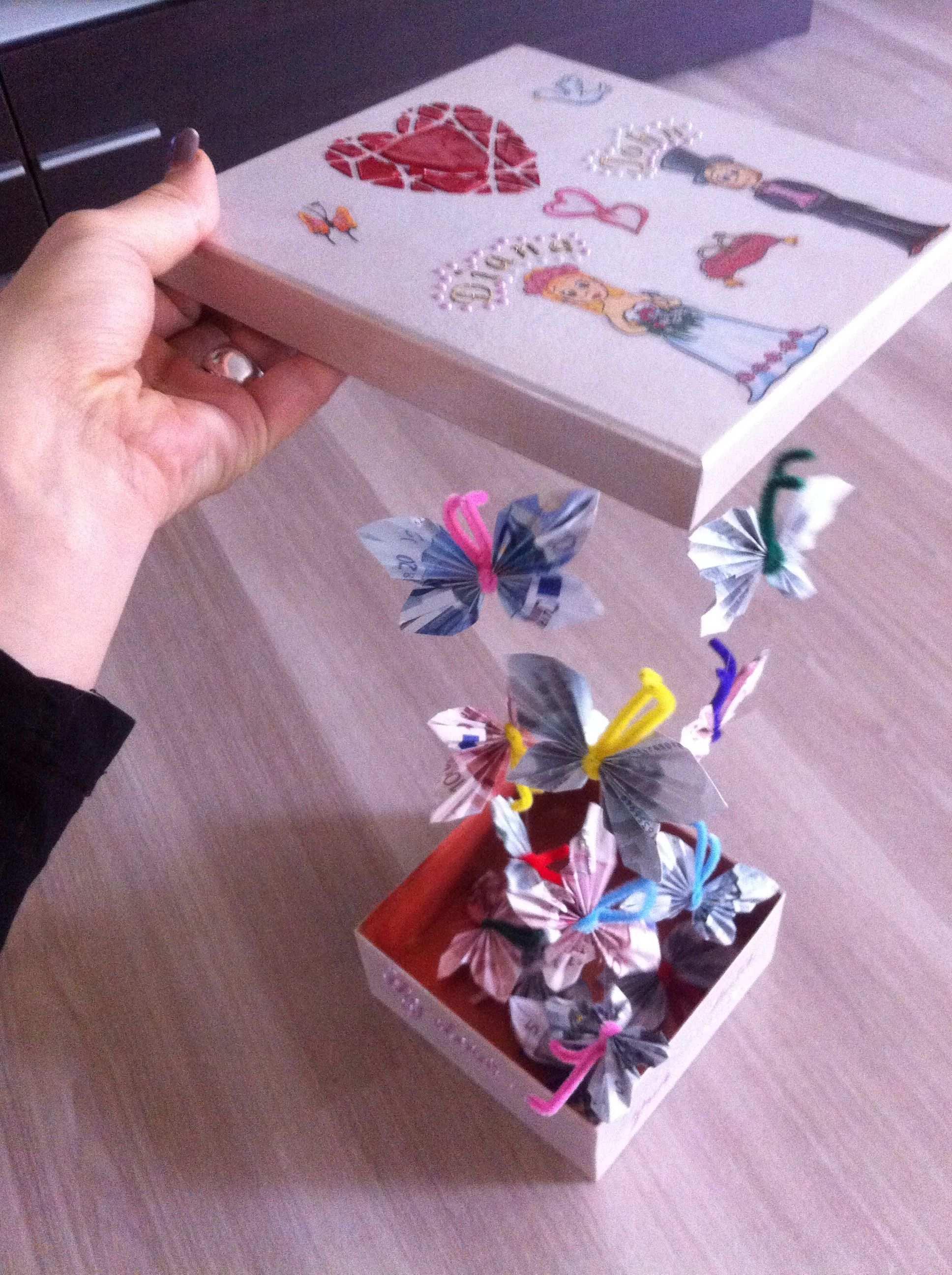 Luxurypimp Geldgeschenk Hochzeit Fliegende Schmetterlinge Geschenke Geschenke Basteln Bastelideen