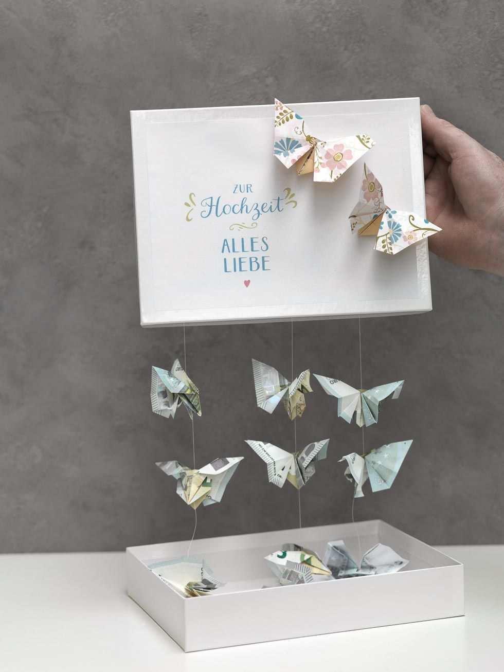 Schmetterling Aus Geld Falten Weddingstyle Hochzeit Geschenk Geld Geschenk Hochzeit Geschenke