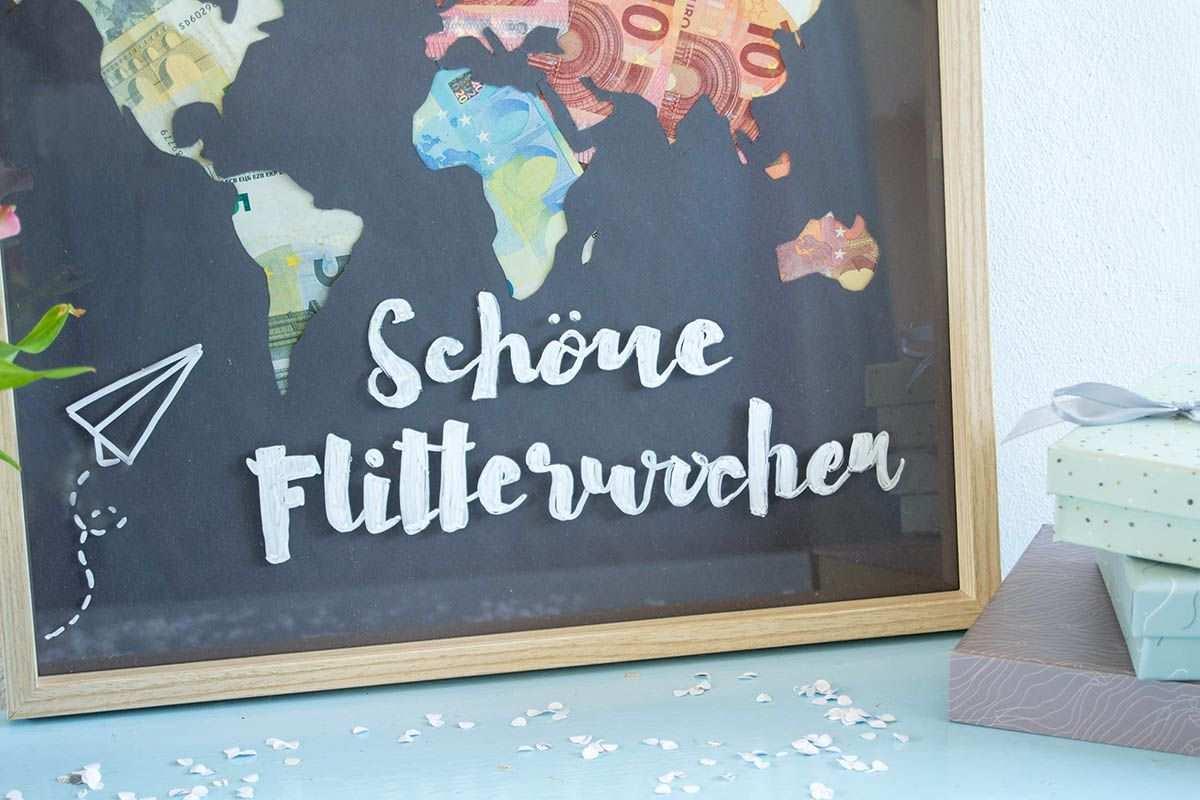 Geldgeschenk Zur Hochzeit Ein Weltkarten Diy Galeria Blog Geldgeschenk Hochzeit Verpacken Diy Geschenke Hochzeit Geschenk Hochzeit