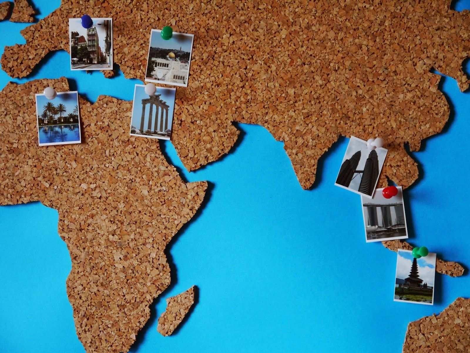 Diy Weltkarte Aus Kork Diy Geschenke Basteln Weltkarte Basteln Diy Sachen Weltkarte Kork
