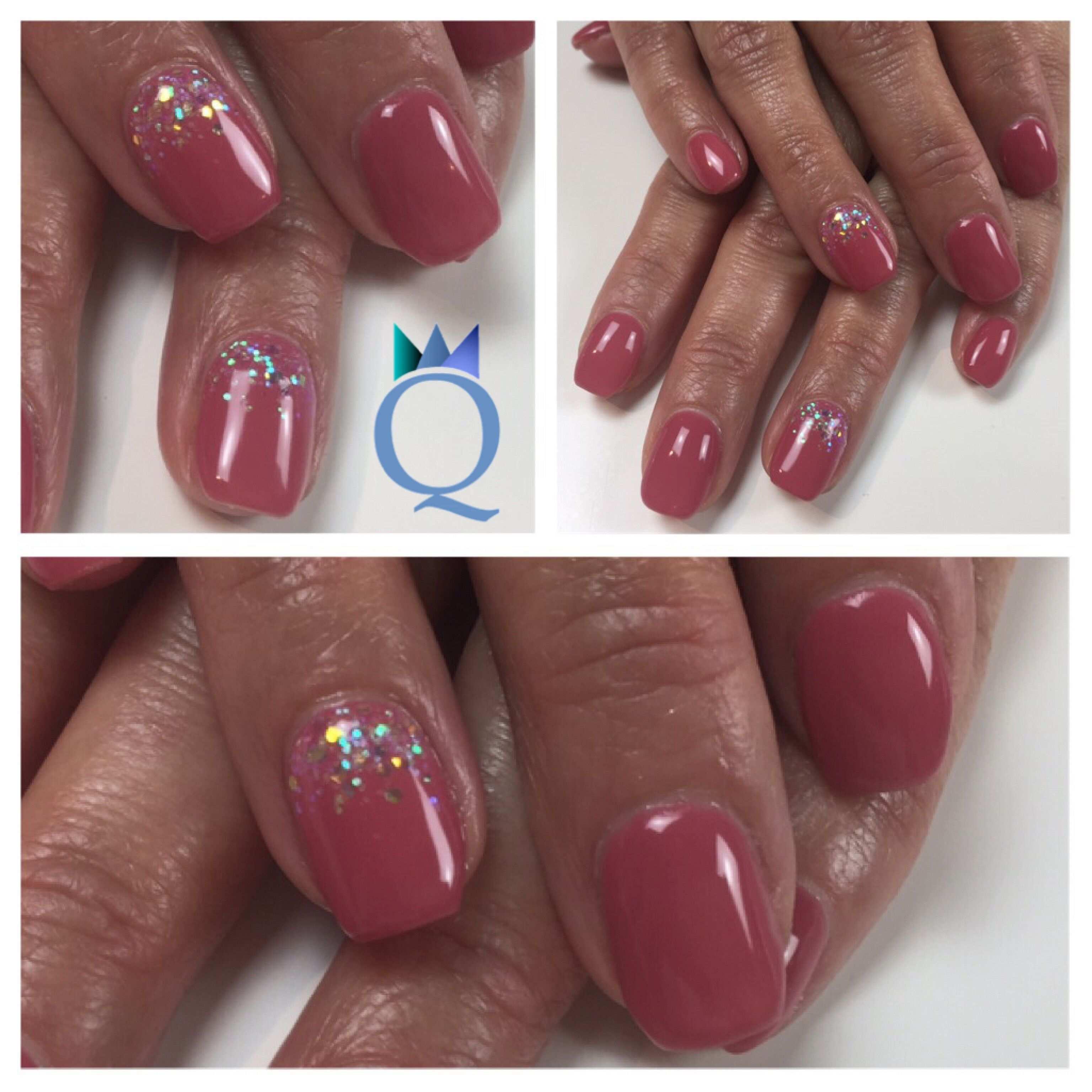 Shortcoffinnails Ballerinashape Gelnails Nails Pastelmagenta Rainbow Glitter Kurze Ballerina Form Gelnagel Nagel Nagelformen Nails Hochzeitsnagel