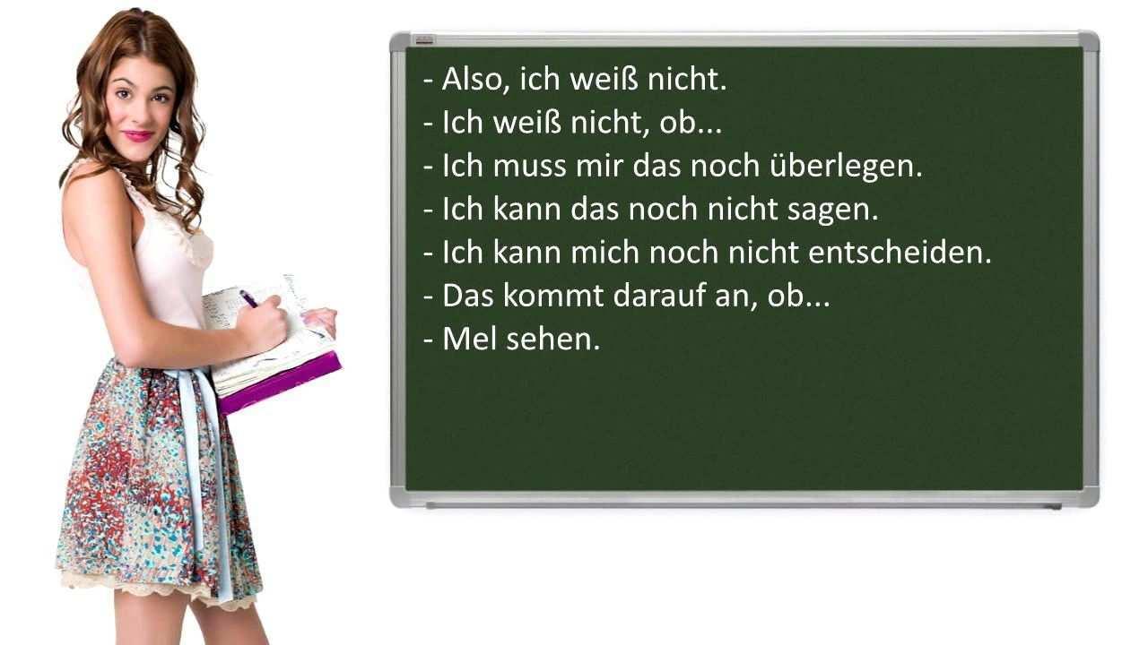 Gemeinsam Etwas Planen Wichtige Satze Auf Deutsch Mundliche Prufung B1 Learn German Youtube German Language Learning
