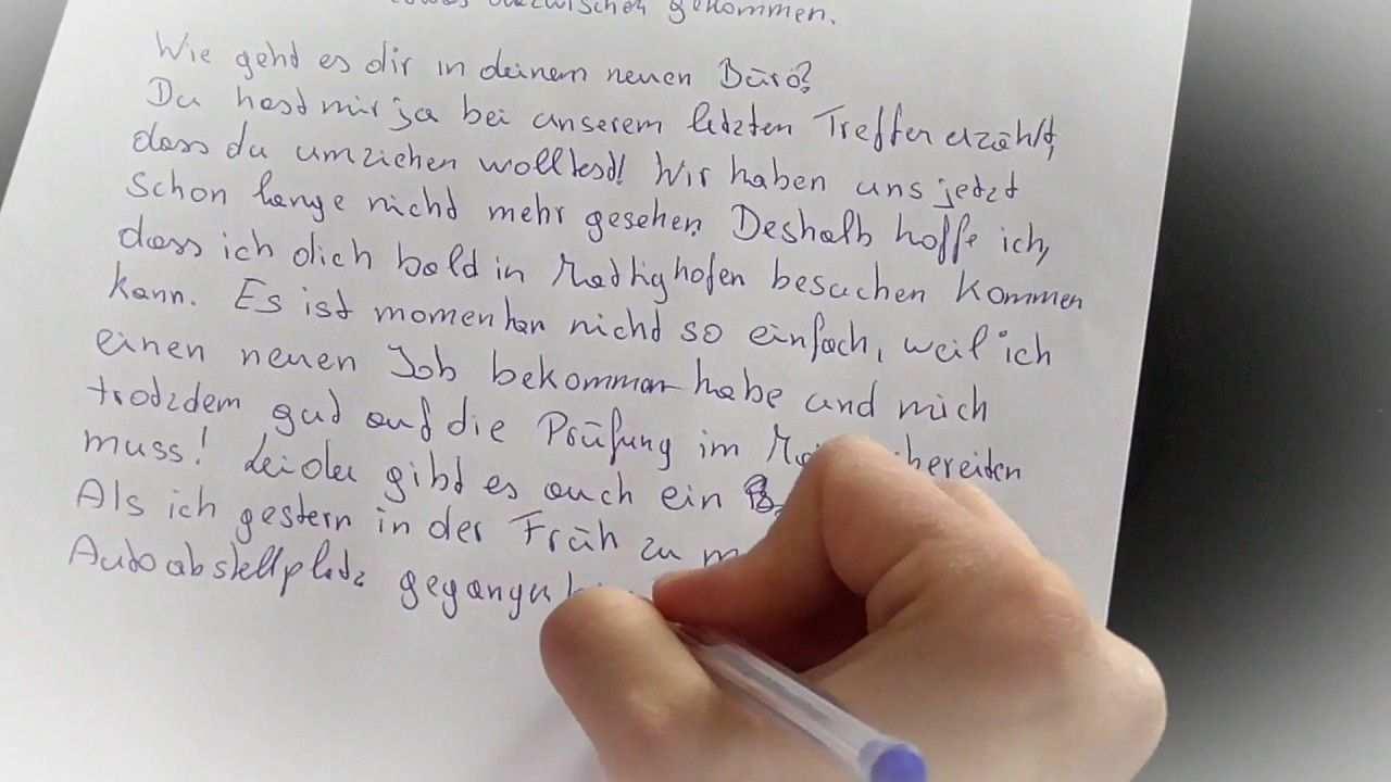 German Exam Letter B 1 And A 2 Writing 2 Private And 1 Formal Letter E Briefe Schreiben Deutsch Ubungen Deutsch Lernen