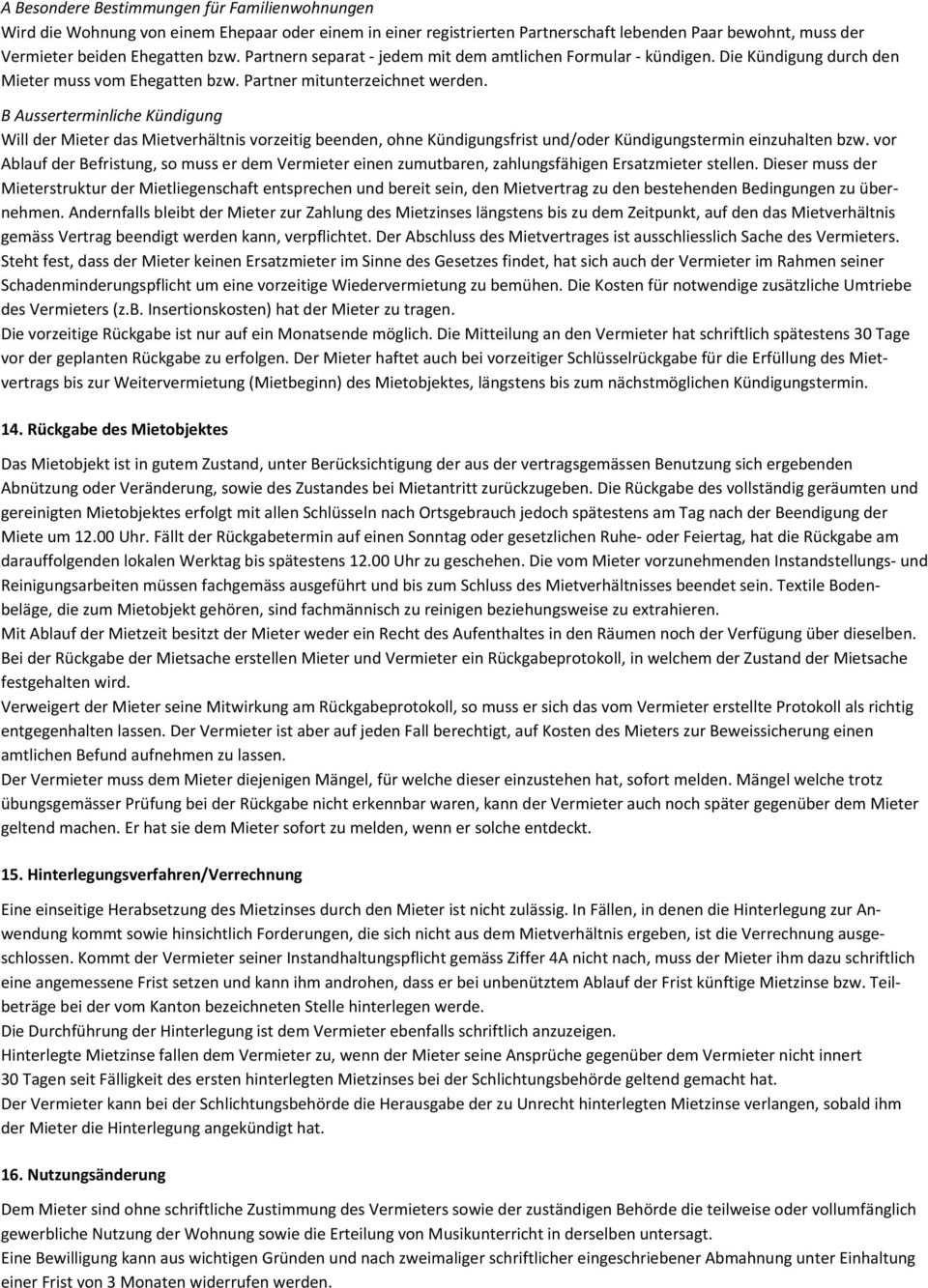 Mietvertrag Fur Wohnraume Pdf Free Download
