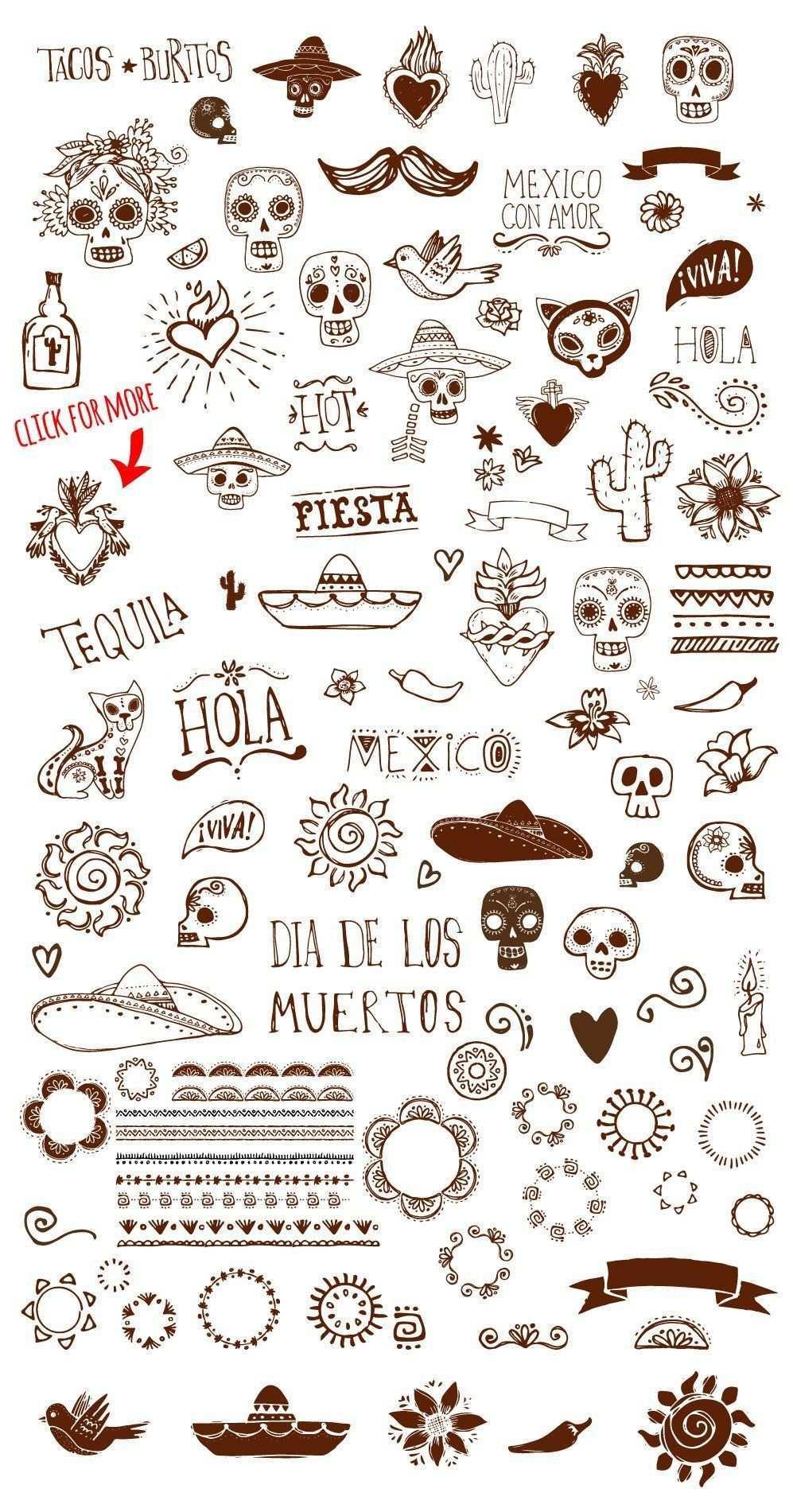 Tattoo Vorlagen Tattoo Templates How To Draw Hands Mexico Tattoo
